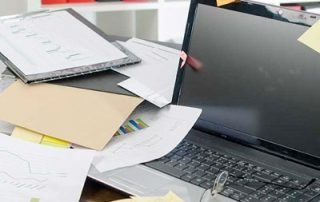 Effective records management means clearing out clutter