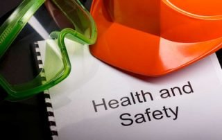 Safety check list for risk officers